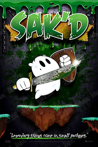 SAK'D 24x36 Poster - 'Slimed' Edition