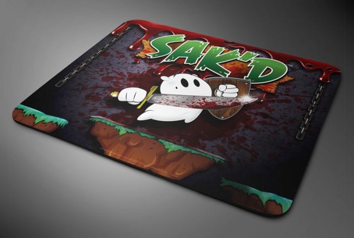 SAK'D Mousepad - 'Warpath' Edition