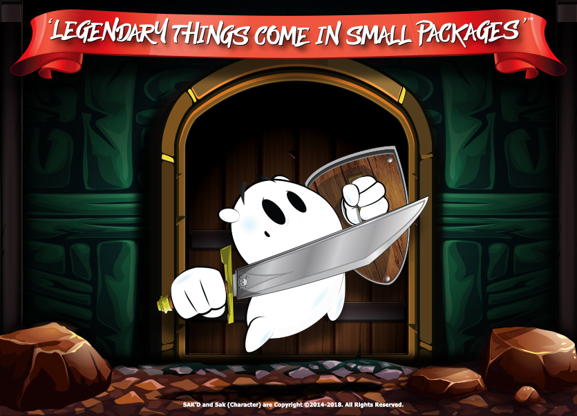 SAK'D - Legendary Things Come in Small Packages