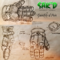 SAK'D Armour - Gauntlets of Pain